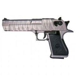 DESERT EAGLE TIGER STRIPE (Silver)  GBB  CYBERGUN